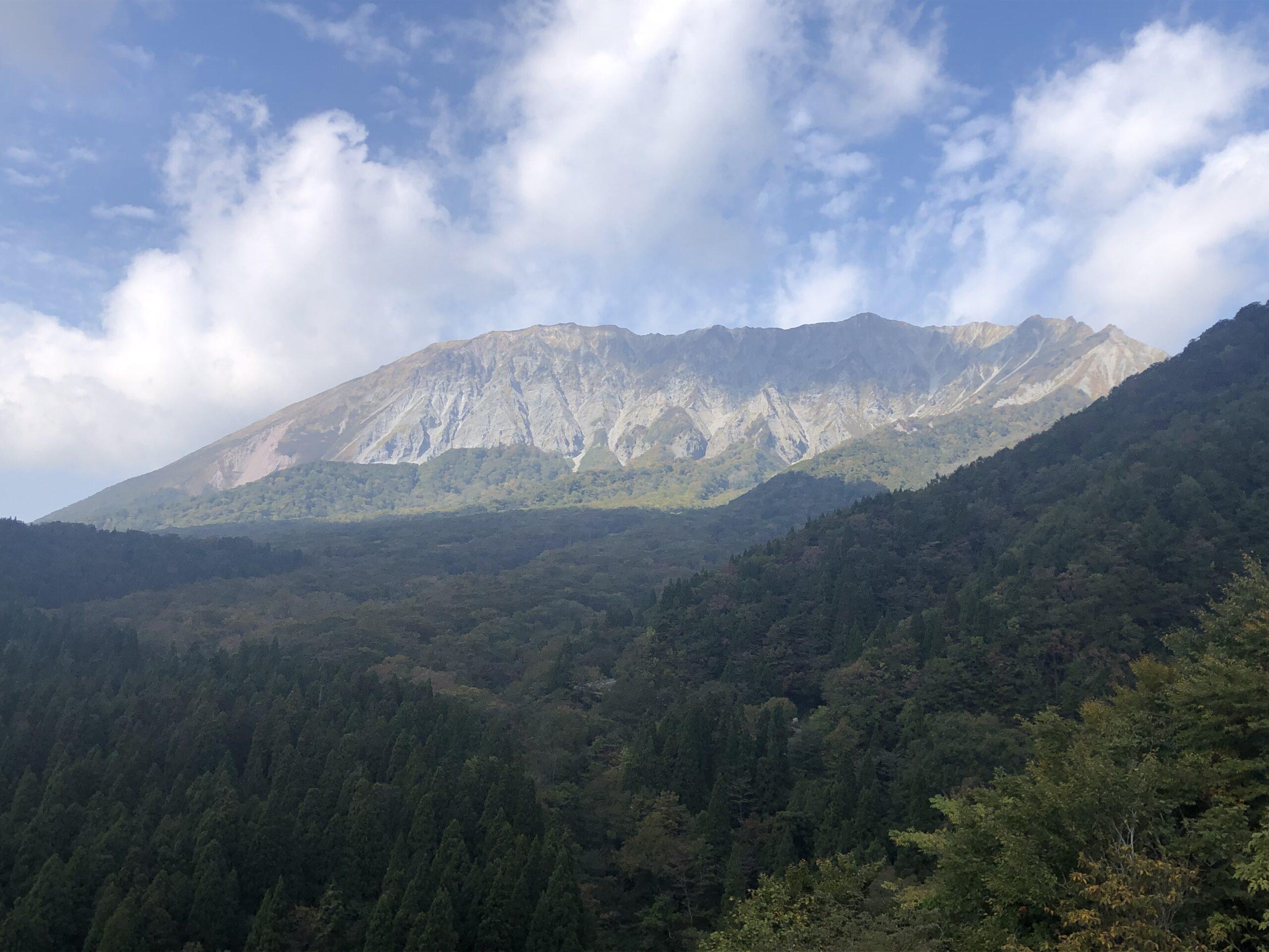 大山とラーメンとランチセット。